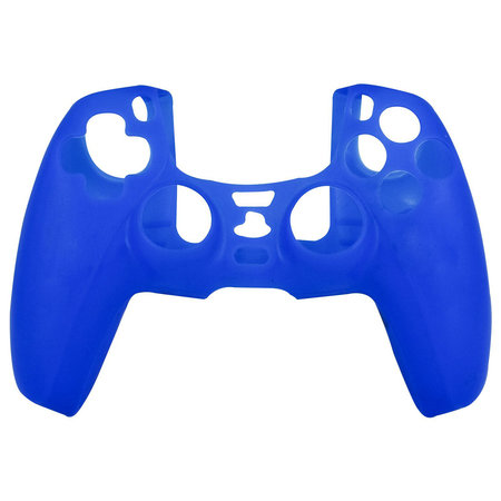 Geeek Silicone Case Cover Skin voor PS5 DualSense Controller - Blauw