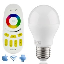 Wifi RGBW 6W LED Bulb with Remote Control App and
