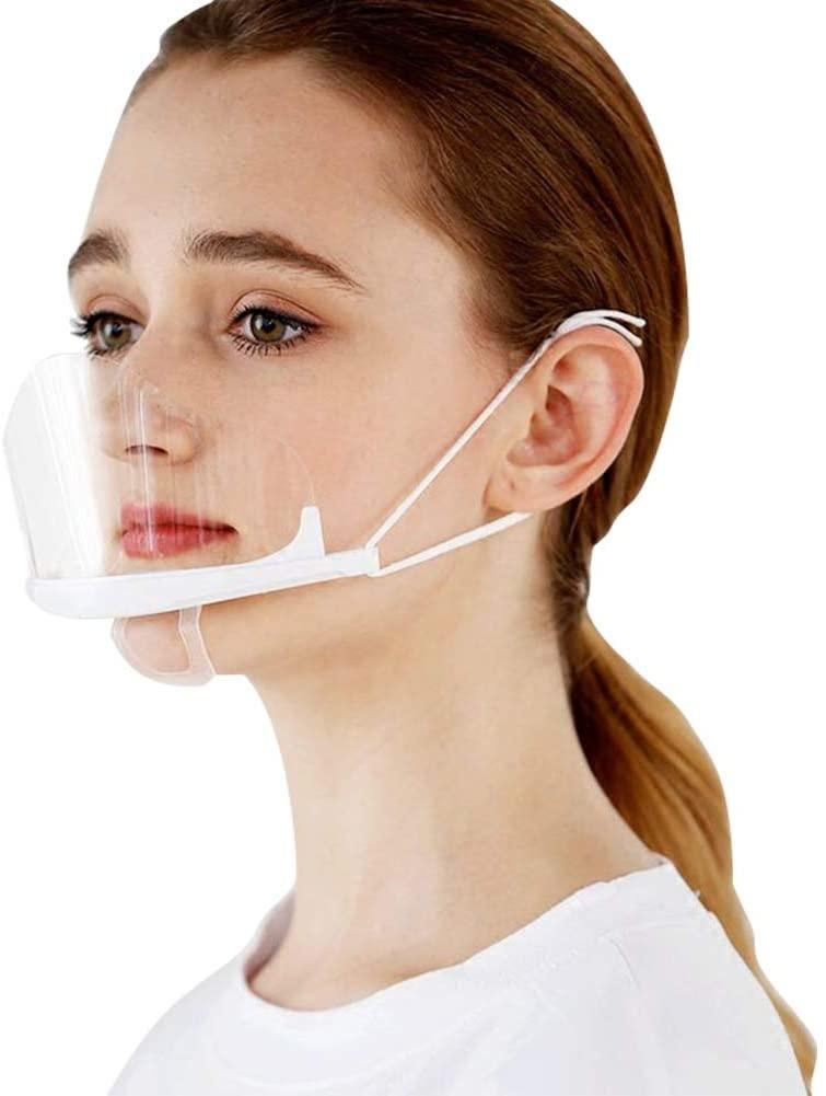 Anti-condens Spatscherm - Hygiene masker - Masker - Niet-medisch - 8cm hoog 1 stuks