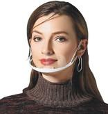 Anti-condens Spatscherm - Hygiene masker - Masker - Niet-medisch - 8cm hoog