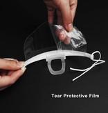 Antibeschlag Spritzschutz - Hygienemaske - Maske - Nicht medizinisch - 8 cm hoch