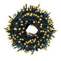 Weihnachtsbeleuchtung 200 LED-Leuchten - Warmweiß - Innen / Außen - IP44 - 23m