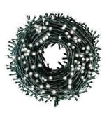 Kerstverlichting 200 LED lampjes - Koud Wit - Indoor/Outdoor - IP44 - 23m