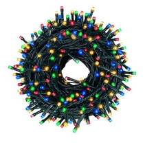 Christmas lighting 200 LED lights - Multicolor - Indoor / Outdoor - IP44 - 23m
