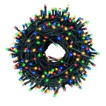 Weihnachtsbeleuchtung 200 LED-Leuchten - Mehrfarbig - Innen / Außen - IP44 - 23m