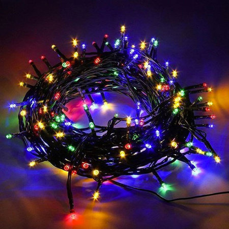 Christmas lighting 200 LED lights - Cold White - Indoor / Outdoor - IP44 - 23m