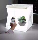 Geeek Opvouwbare Fotostudio Opnametent met LED Verlichting