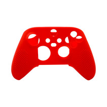 Silicone Case Cover Skin voor Xbox Series X / S Controller - Rood