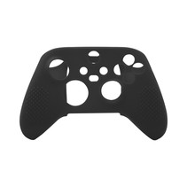 Silicone Case Cover Skin voor Xbox Series X / S Controller - Zwart