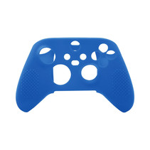 Silicone Case Cover Skin voor Xbox Series X / S Controller - Blauw
