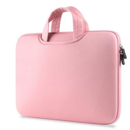 Airbag Universal 2-in-1-Hülle / Tasche für Laptops bis 14 Zoll - Rosa