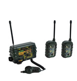 Radio Command Central mit Mikrofon + 2x Walkie Talkies