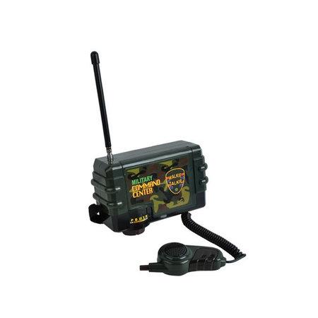 Radio Commando Centrale met Microfoon + 2x Walkie Talkies