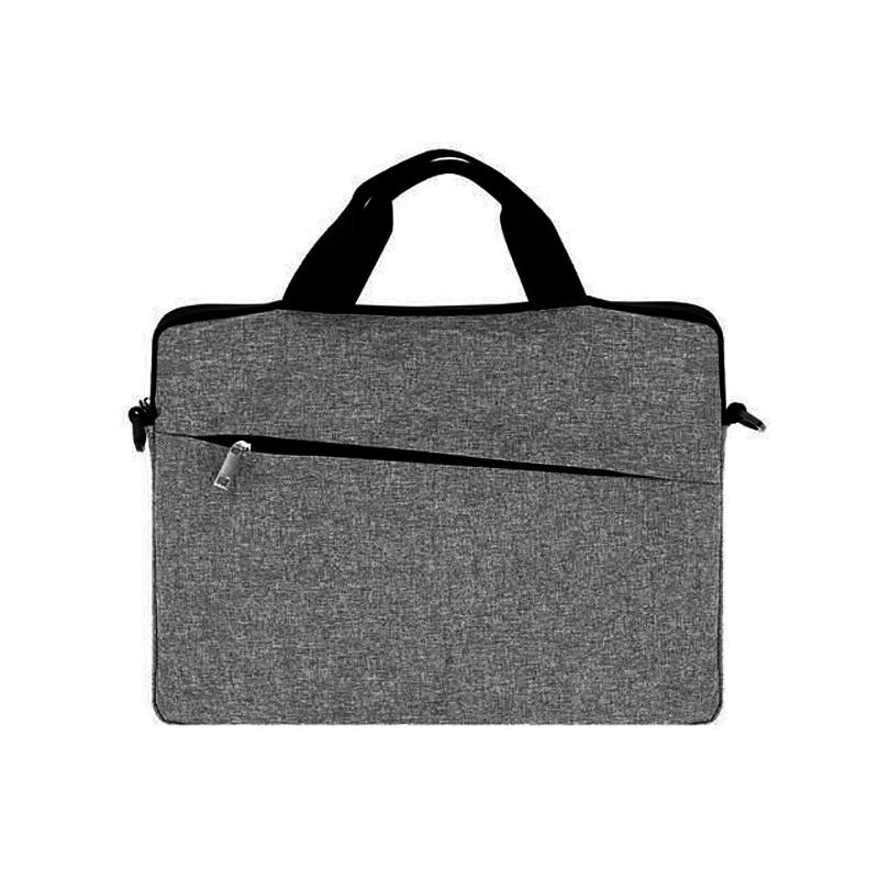"""Universele laptop tas business computer case voor 13""""laptops en macbooks met extra schouderriem in grijs ..."""
