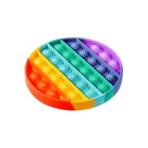Pop it Fidget Toy Regenbogen - Bekannt von TikTok -Runden - Rainbow
