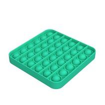 Pop it Fidget Toy- Known from TikTok - Square- Green