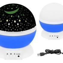 Starry Sky Night Light - Rotating Star Projector - Star Master