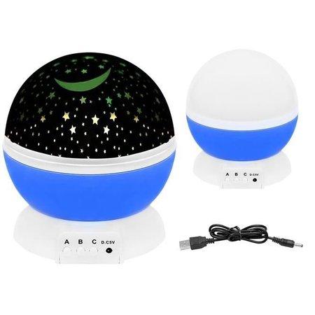 Sternenhimmel Nachtlicht - Rotierender Sternprojektor