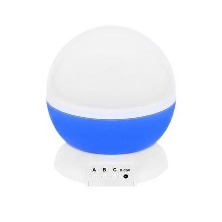 Sterrenhemel Nachtlamp - Roterende Sterren Projector