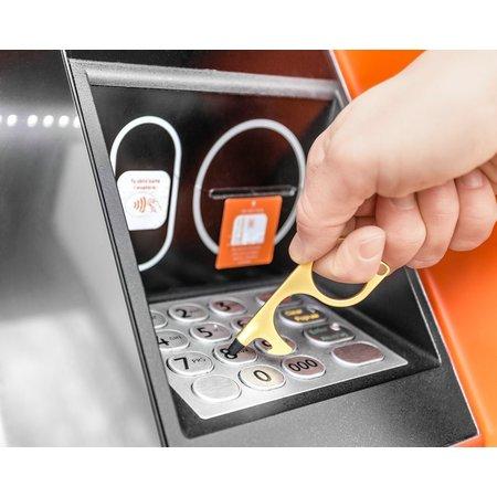 Kontaktlos- Multitool - Hygiene Schlüsselhänger