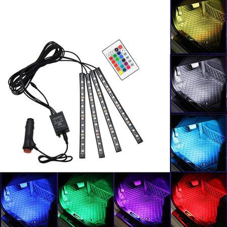 Geeek LED Autoinnenbeleuchtung RGB + Fernbedienung - Innenbeleuchtung