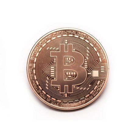 Geeek 'Real' Bitcoin Coin - ø 40mm - in plastic storage case