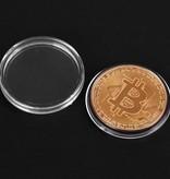 Geeek 'Echte' Bitcoin-Münze - ø 40 mm - im Kunststoffkoffer
