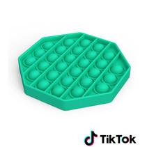 Pop it Fidget Toy- Known from TikTok - Hexagon - Green