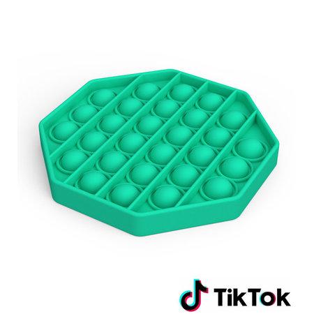 Pop it Fidget Toy- Bekend van TikTok - Hexagon - Groen