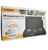 B-Camping Camping Gaskocher Trio - Tragbarer Gasherd - 3-Flammen-Herd - Außenherd - Butangas