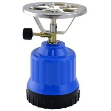 B-Camping Camping Gas Burner Plastic - Camping Gas Cooker 'ECO' - Blue