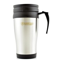 Thermo Cup 450ml Edelstahl - Thermo Becher - Travel Cup - Warm halten Cup