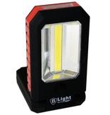 Werklamp COB + 3 LED - Campinglamp - Zaklamp - Klapbaar met haak en Magneet