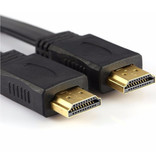 Flat HDMI Cable 3 meters High Speed - max. 2160P - max. 10.2 Gbps