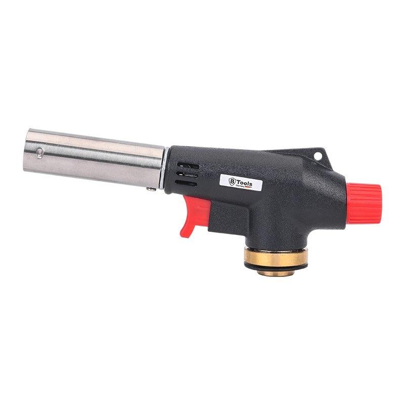 Soldeerbrander opzetstuk voor gaspatronen met schroefventiel