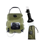 Camping Solar Shower - Solar Shower - 20 Liters - With Temperature Indicator