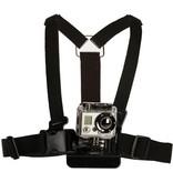 Geeek Chest Mount Harnas / Borstriem Houder voor GoPro