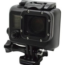 Waterproof Case for GoPro - Cool Dark Blackout
