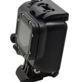 Geeek Waterdichte Behuizing voor GoPro - Cool Dark Blackout