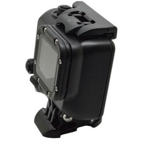Geeek Waterproof Case for GoPro - Cool Dark Blackout