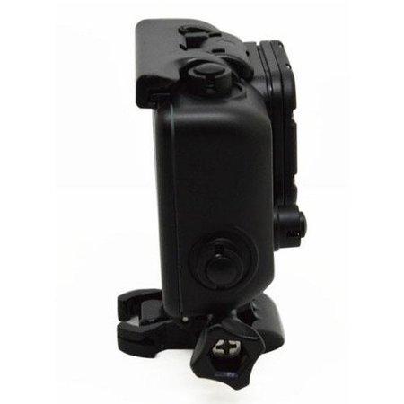 Geeek  Unterwassergehäuse für GoPro - Coole Dunkle Blackout