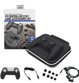 PS5 DualSense Controller - 12-in-1 Expansion Set - PlayStation 5 Accessories