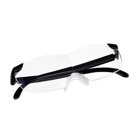 Vergrootglas bril 160% zoom - Extreem helder glas voor perfect zicht - Bril met vergrotende functie