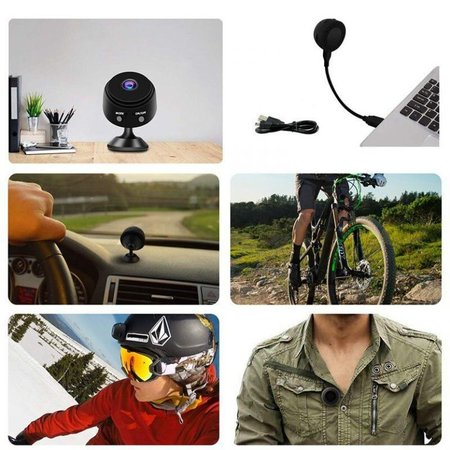 Full HD Mini Spy Cam 1080P DV Action Camera with Magnet
