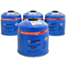 Gasdose | Gaskartusche | Camping Gasfüllung | mit Schraubventil| Butangas | 500g