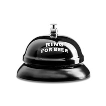 Ring for a Beer - Beer Bell - Table Bell - Bar Bell for Beer - Pub Bell