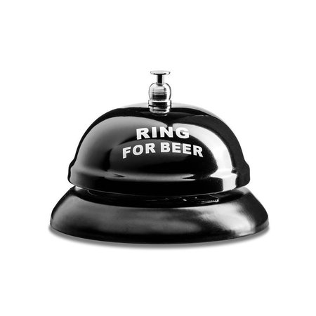 Geeek Ring for a Beer - Beer Bell - Table Bell - Bar Bell for Beer - Pub Bell