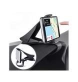Universele Dashboard Smartphone Houder - Stevige clip - Gebruiksvriendelijk