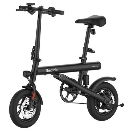 Compacte E-bike - Baicycle Smart 2.0 - 12 Inch - Opvouwbare Elektrische Fiets - 7.8Ah - 25km/u