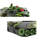 Geeek Radiografisch Bestuurbare Tanks Duo Tank Battle 2,4Ghz